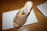 Ladies Emma Hope Raffia wedge shoes - Size 37.5