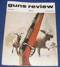 GUNS REVIEW MAGAZINE JANUARY 1968 - THE BLOW FORWARD PISTOL