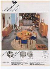 PUBLICITE ADVERTISING 104 1963 FRITHO 63 meubles vendu par Roche & Bobois