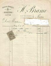 1883+Hector Brame+Antoine Vollon+Galerie Brame et Lorenceau+Document INEDIT