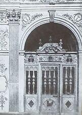 Fontainbleau, Chapel Enclosure, Louis XIII, Magic Lantern Glass Slide