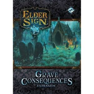 Elder Sign Grave Consequences Expansion - New