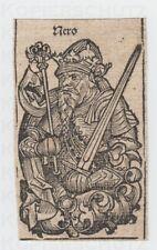 3 Holzschnitte 1493 Kaiser Nero Ckaudius Caligula aus Schedelsche Weltchronik