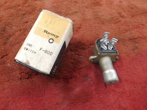 1947 48 49 50 51 52 53 54 1955 56 NOS Ford Studebaker Delco F-800 Dimmer Switch