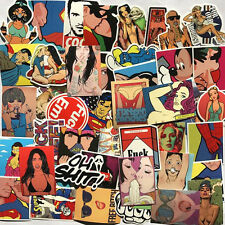 52 Sex violence Stickers Vinyl Skateboard Guitar Travel Case sticker pack decals