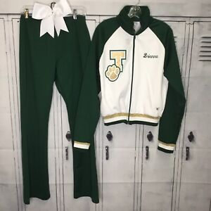 Cheerleading Uniform Warm Up Pants Set Adult L
