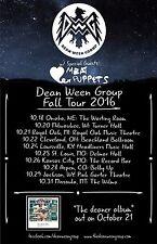 """DEAN WEEN GROUP/MEAT PUPPETS """"FALL TOUR 2016"""" U.S. CONCERT POSTER-Alt.Rock Music"""