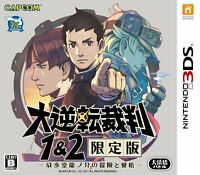 Nintendo 3DS Ace Attorney Dai Gyakuten Saiban 1 & 2 Limited Japan Game F/S
