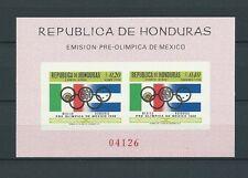 LATIN AMERICA - HONDURAS - 1968 MI 10 BLOC -  TIMBRES NEUFS** MNH LUXE