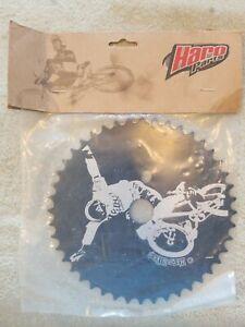 Haro dave mirra bmx bike SPROCKET 44T chainring black NOS  midschool 🔥rare.