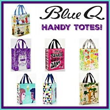 Blue Q HANDY TOTE 95% Post Consumer Materials Cool Reusable Green Lunch Gift Bag