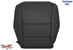 2008-2013 Honda Accord 4 DOOR -Passenger Bottom Genuine Leather Seat Cover Black