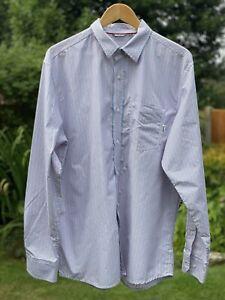 Mens Rohan Striped Shirt Size Large