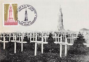 Card Maximum FDC France Mai 1978 Hill Of Lorette Samaria Saint Nazaire