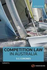Competition Law in Australia by Stephen Corones (Paperback, 2014)
