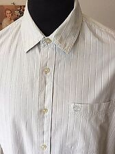 Timberland ~ fine cotton fine striped l/sleeve smart/ casual shirt ~L 42""