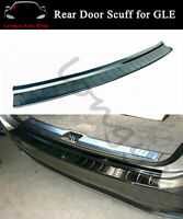 Rear Door Plate Fits For Mercedes Benz GLE V167 2019-2021 Cover Scuff Sill Trim