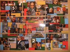 GERRY ANDERSON 9 card preview set THUNDERBIRDS CARDS INC limited to 300 PROMO