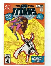 The New Teen Titans # 3 DC NM- 1st Appearance of the Fearsome Five