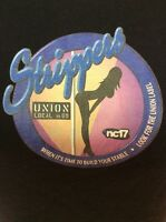 Strippers Union Local 69 T Shirt Juniors Large NC17 Made in USA Ships Free