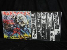 IRON MAIDEN THE NUMBER OF THE BEAST HARVEST RECORDS WITH FLYER IN THE SHRINK