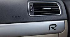 3 x Volvo R-Design Aufkleber für Innendekor XC S40 S60 S80 V50 V70 Emblem Logo S