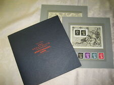 1990  THE PENNY BLACK SOUVENIR BOOK ANNIVERSARY ROYAL MAIL STAMPS MS1501