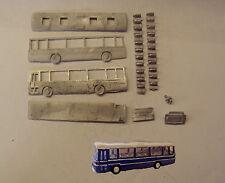 P&D Marsh N Gauge N Scale E135 Plaxton Supreme coach kit requires painting