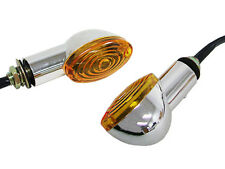 Chrome Amber Turn Signal for Honda Shadow V-Star Vulcan Intruder Volusia C50 C90