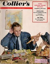1953 Colliers May 23 - Sherlock Holmes; Jazz musicians;Atomic airplanes/airports