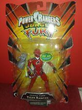 Bandai 2007 Power Rangers Jungle Fury RED Sound Fury Tiger Ranger - Sealed 269