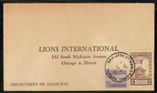 Mayfairstamps Habana to Lions International Chicago Flag Cover wwm_39947