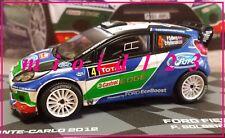 1/43 - FORD FIESTA RS WRC - Solberg / Patterson - 4° Montecarlo 2012 - Die-cast