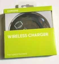 Original Black Samsung Wireless Charger Genuine Charging Pad Note 5 6 S6 S7 Edge