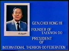 Rare Set 4 ITF TAEKWONDO DVD DPRK Korea General Choi Hong Hi Taekwon Do Patterns