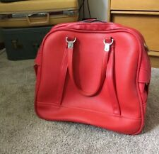 Vintage Red Travel Bag Retro Hand bag