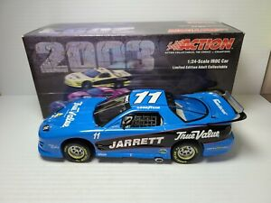 2002 Dale Jarrett #11 True Value / Indy IROC Win 1:24 IROC Xtreme Action MIB