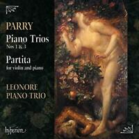 LEONORE PIANO TRIO - PARRY:PIANO TRIOS NOS.1and3 [CD]