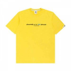 AAPE By A BATHING APE Men's T-Shirt LOGO DETAILING AAPTEM0744XXG Fast Ship Japan