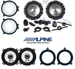 ALPINE SXE-1750S SXE-1325S Set 6 Arcas para Mercedes CLC (CL203) 08>11 Brkt / P