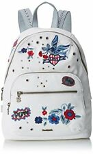 "Borsa Zaino Desigual Bag ""denim Flowers Lima"" Art. 18saxd07/1000"