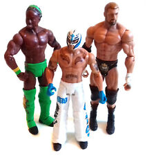 """WWF WWE de catch Triple H, MYSTERIO & Koffi Kingtson 6"""" Toy Figure Battle Set"""