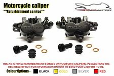 Kawasaki Z750 J 04-06 front brake caliper refurbishment service 2004 2005 2006