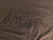 el mayor TEQUILLA T-SHIRT - SIZE XL, SHADES OF GRAY *****DISTRESSED*****