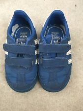 Blue Adidas Boys Trainers, Size Infant 5