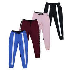 Victoria Secret Rosa Pantalones Ajustados Jogger's Cintura Alta Pantalones Pantalones activo