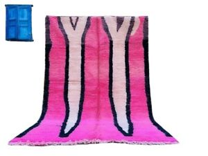 Moroccan Rug , pink design from Moroccan Atlas mountain, for your home decor