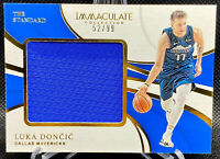 Luka Doncic 2018-19 Immaculate The Standard Rookie Patch RC 52/99 Dallas Mavs