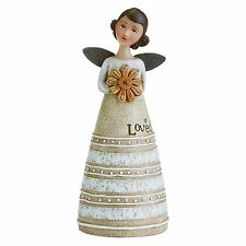 "NOVEMBER Birthday Wish Angel, Discover Grace, 4.25"" Tall, Studio by Demdaco"