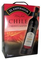 EL EMPERADOR CABERNET CARMENERE  CHILE Bag in Box 3l